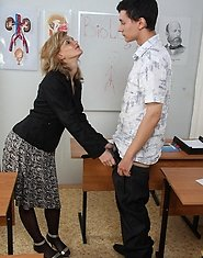 Sex hungry mature teacher