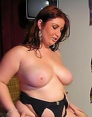 chubby milf in action
