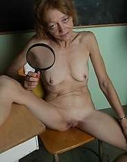 Xxx granny sex  pussy under a magnifying glass
