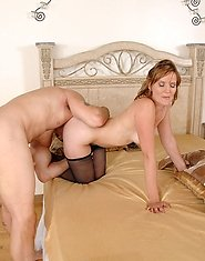 Classy Anilos Sadie gets rammed hard by the huge cock of a hot young stud