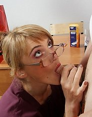 Profession college blowjob