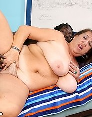 BBW Milf is craving some black cock for the first time in her wet cunt